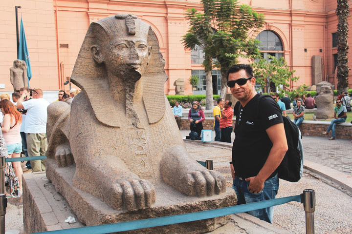 The Egyptian Museum from Cairo